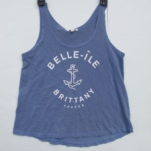 Sundry BELLE-ILE Brittany France Graphic tank 1 S